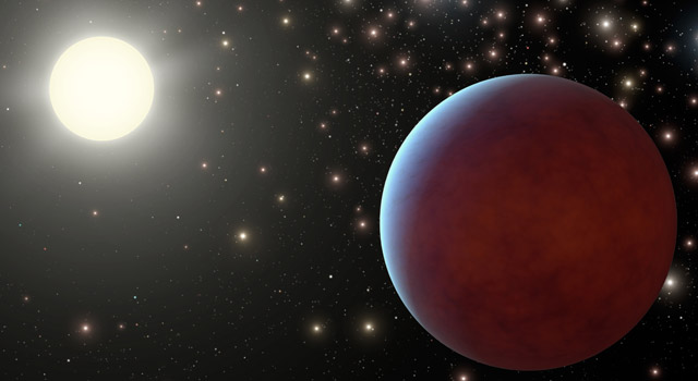 starry-skied planets